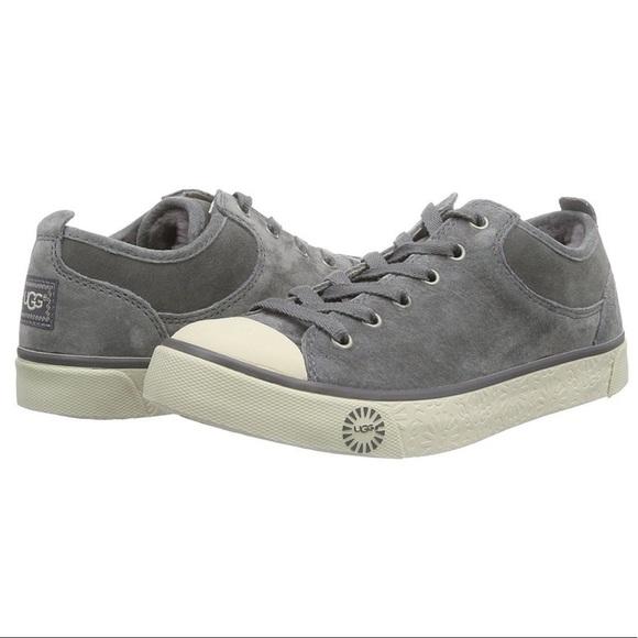 6cca2265a05 UGG Classic Evera Suede Genuine Sheepskin Sneaker